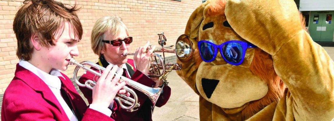 Penrith Town Band  at Lions May Day parade 2016 457461_0