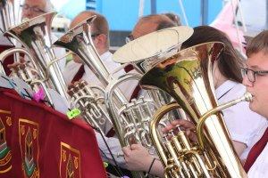 Penrith Town Band euphoniums and baritones