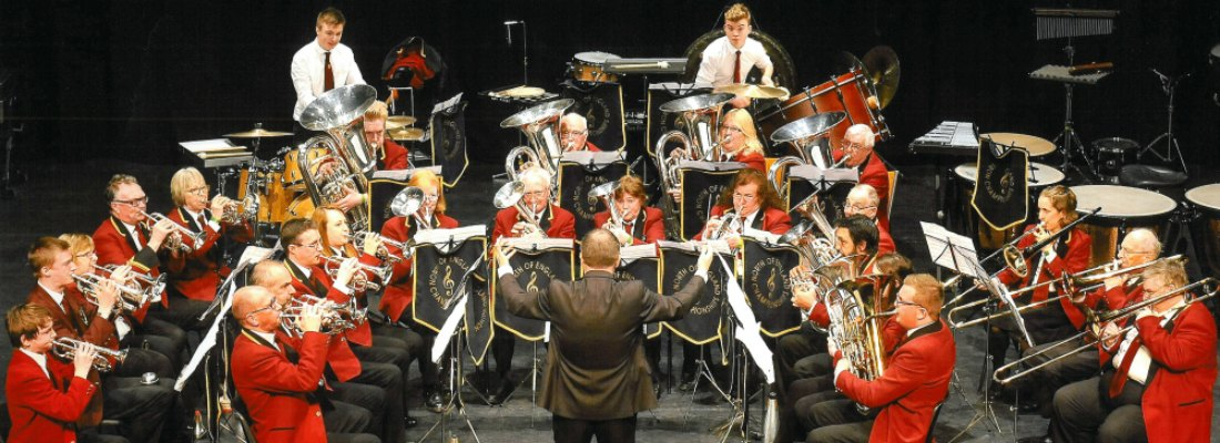 Penrith_Town_Band_in competition 2016
