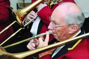 Sid Tyson, longest serving member of Penrith Town Band - 70 years and counting!